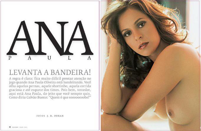 Playboy Ana Paula Oliveira Bandeirinha